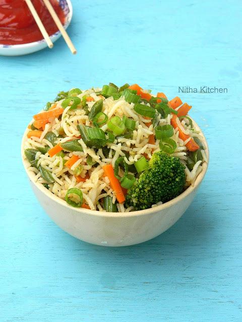 Veg Fried Rice L