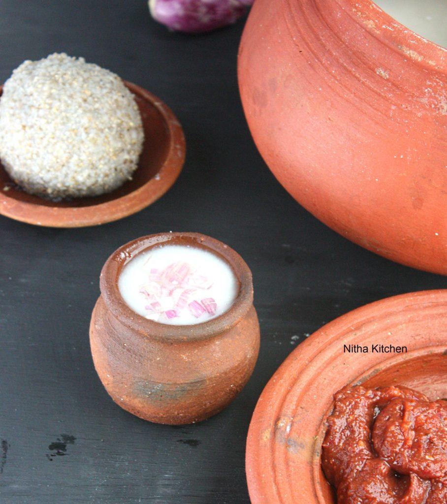 Kambu Koozh Bajra Porridge | கம்பங்கூழ் Kambang Kool