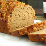 Eggless Banana Wheat Walnut Bread From Scratch