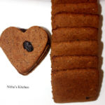 Left Over Whole Grain Bread Cookies | Egg less Cookies