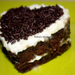 Black Forest Cake with Homemade Cherry Syrup and Egg Whites