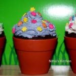 Eggless and Butter Free Chocolate Cup Cakes