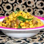 Soya Beans and Peanut Sundal | Soy bean Curry | Stir fry