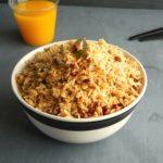 Arisiyum Paruppu Sadham | Dhal Lentil mixed Spicy Rice
