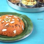 Gajar Ka Halwa | Low or Reduced Fat Carrot Halwa | Pressure Cooker Method
