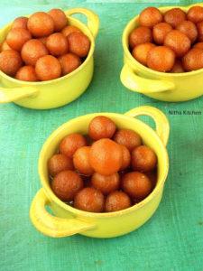 Gulab Jamun from Scratch | Milk Powder Jamoon Recipe From Scratch