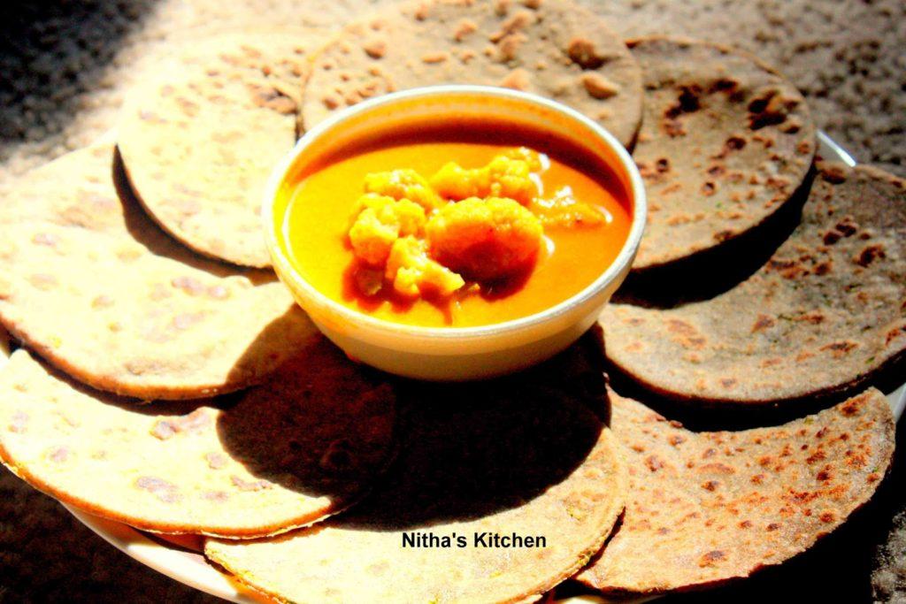 Rye Flour Paratha