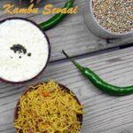Kambu Sevai Idiyappam using Whole grain Bajri | Lemon Kambu Sandhagai
