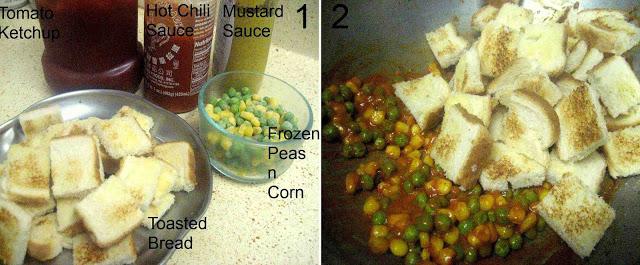 Peas Bread Spread