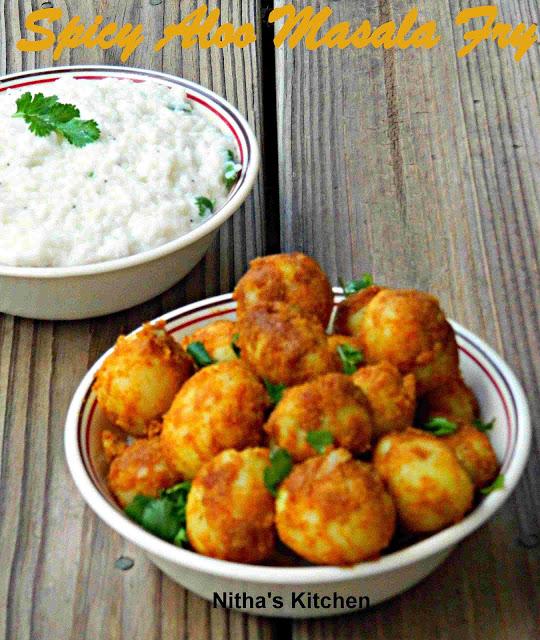 Baby Potatoes Stir Fry | Pan Roasted Spicy Aloo Recipe