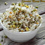 Raw Moong Bean Sprouts Pepper Rice   Sprouted Raw Mung Bean Rice