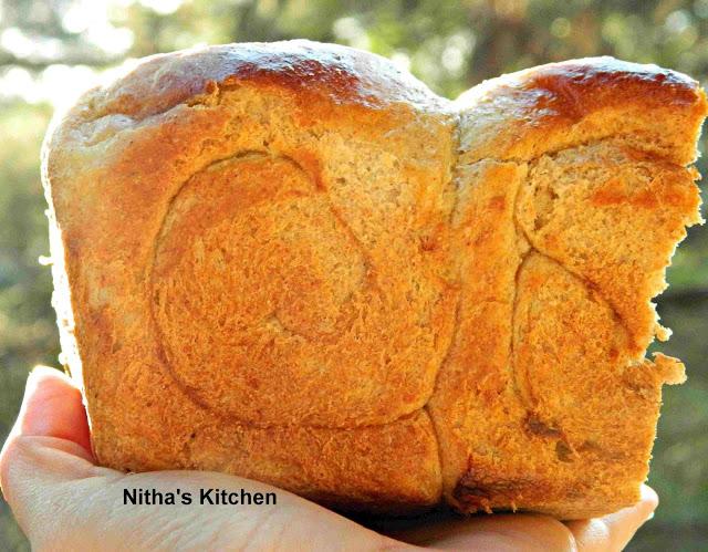 Tangzhong Rye Bread1