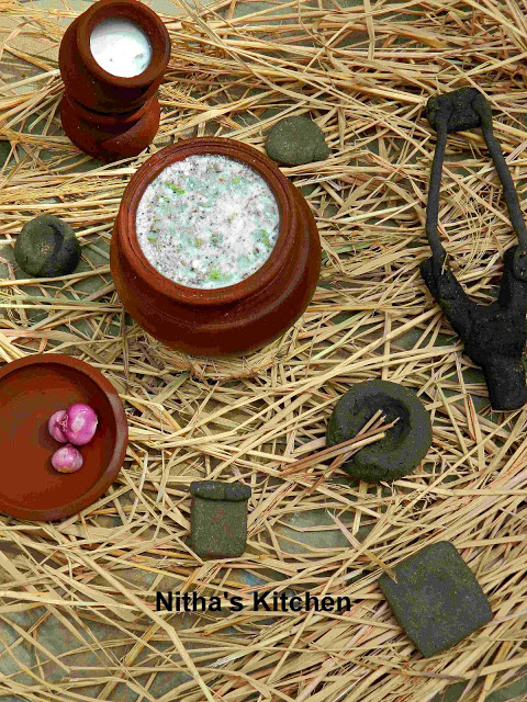 neer mor spiced buttermilk recipe with kids clay art