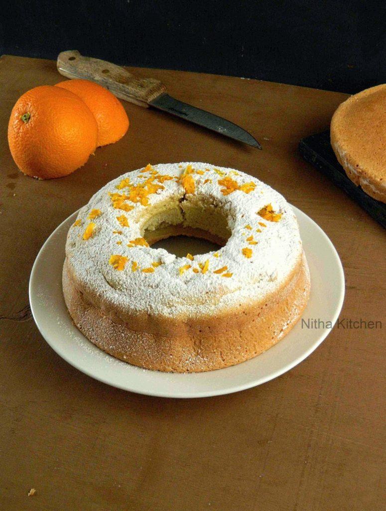 Orange Glow Chiffon Cake0 L