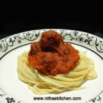 Spaghetti with Meatless Meat balls | Vegetarian Paneer Kofta n Sauce Recipe