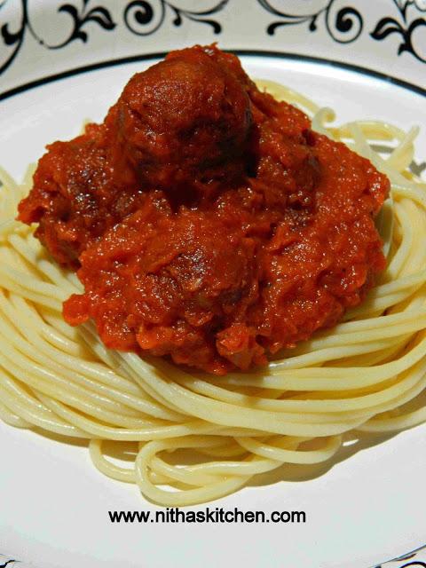 Spaghetti Veg balls2