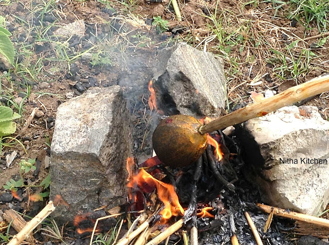 THENGAI SUDUM PANDIGAI | தலை ஆடி பண்டிகை | COCONUT AADI FESTIVAL | THENGAI SUDUTHAL