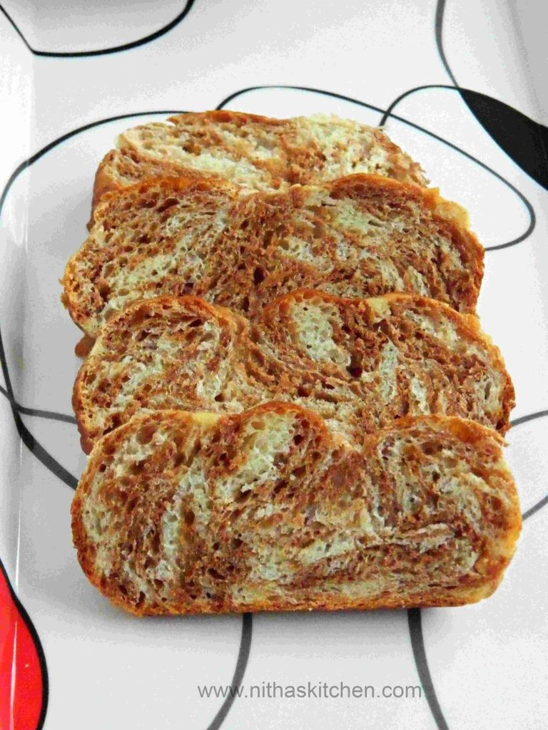 Asian Marble Bread