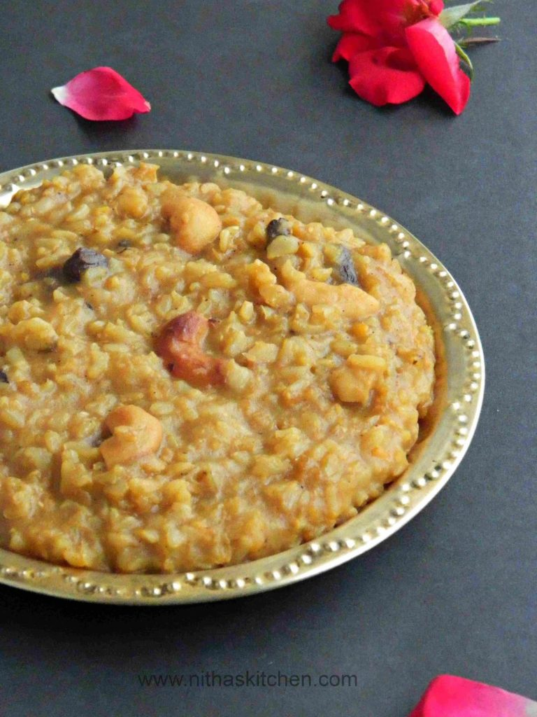 Brown Rice Pongal0