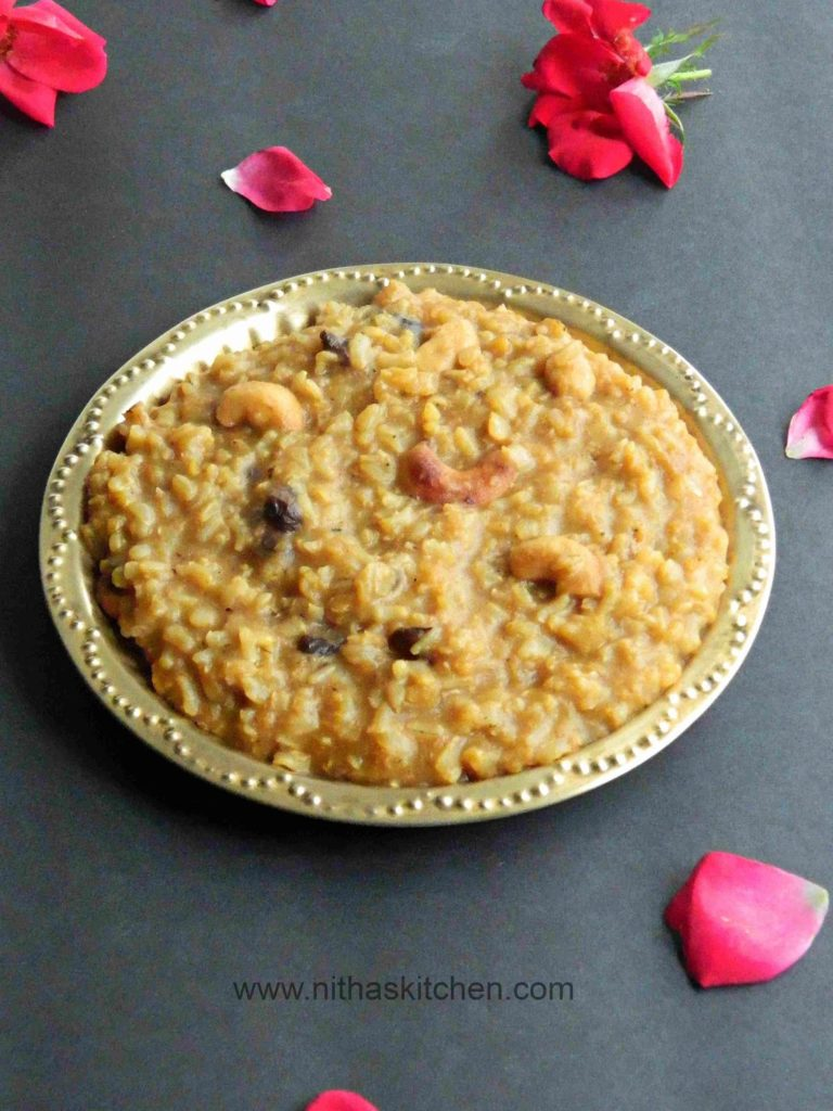 Brown Rice Pongal1