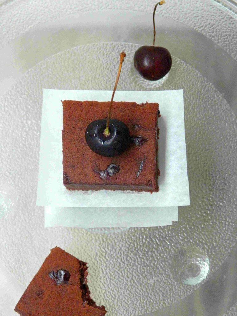 Choc Cherry Cake