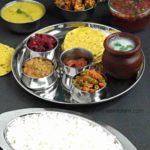 South Indian Special Veg Lunch Menu   Kongunadu Special Thali
