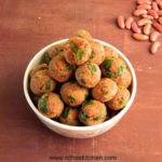 Healthy Baked Spinach Red Kidney Beans Fritters | Palak Rajma Vegetarian Koftas