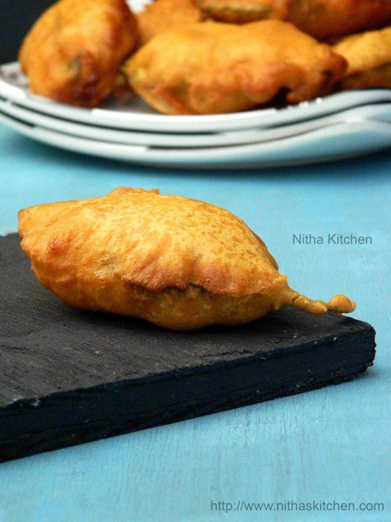 Keerai Bajji Palak Pakora Recipe Gram Flour Fritters Step By Step Recipe
