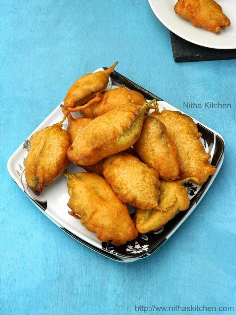 Keerai Bajji Palak Pakora Recipe Gram Flour Fritters