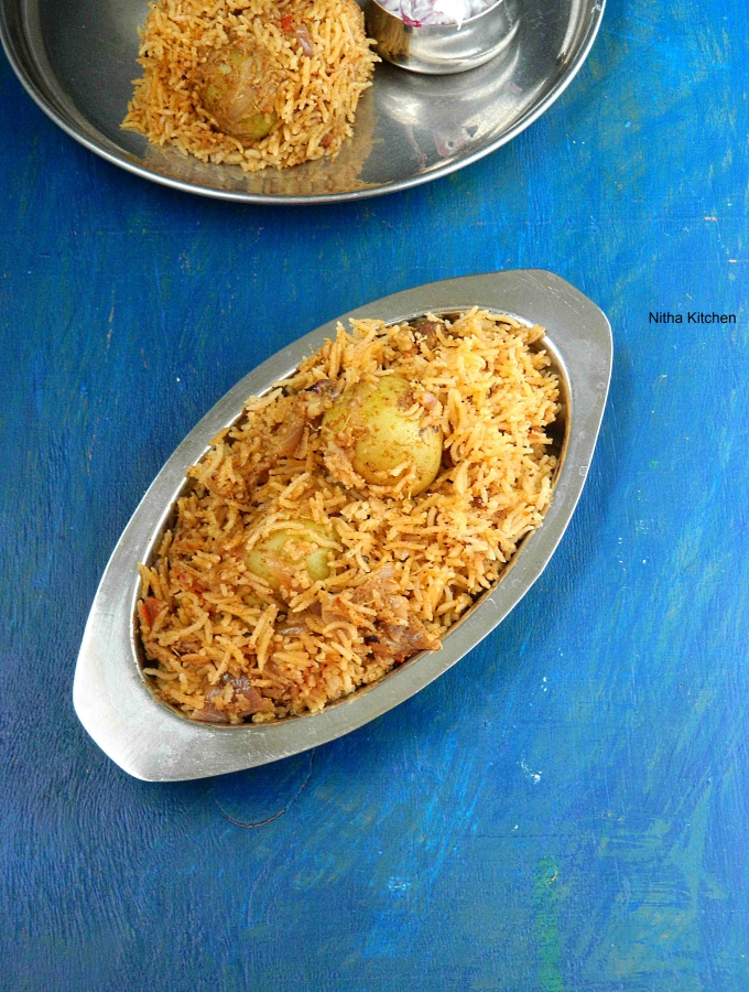 ROASTED BABY POTATO BIRYANI RECIPE | Urulaikilangu Biriyani