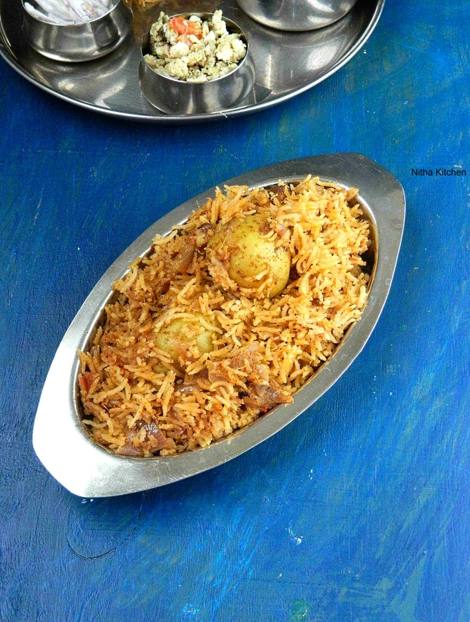 Potato Biryani1 l