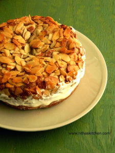 Bienenstich Kuchen | German Bee Sting Cake
