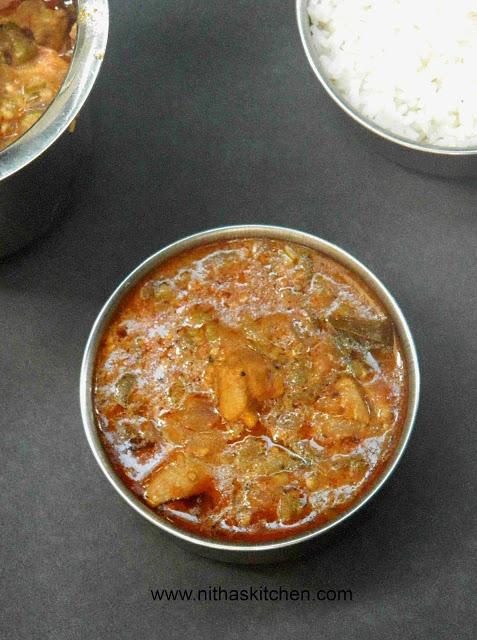 Chicken Pulikuzhambu0