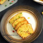 Eggless Butterless Orange Tutti Frutti Mini Loaf Cake | Bakery Style Cake