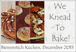 We Knead To Bake Logo December