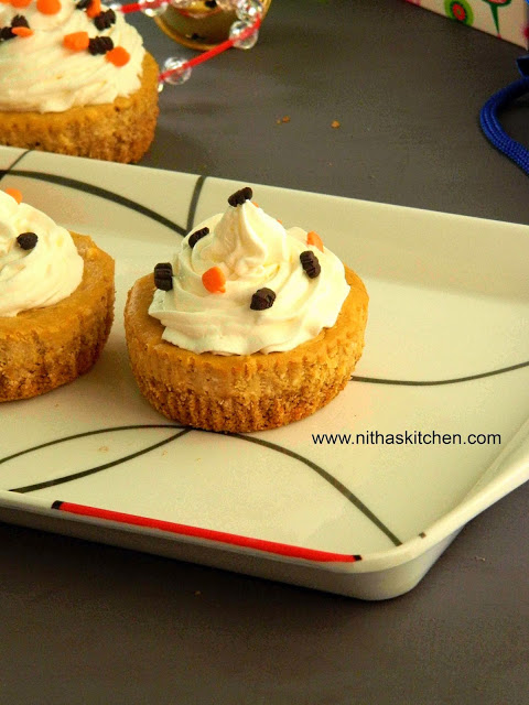 Pumpkin CheeseCakes latest