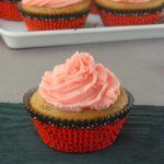 Eggless Strawberry Yogurt Cupcakes | Happy Women's Day