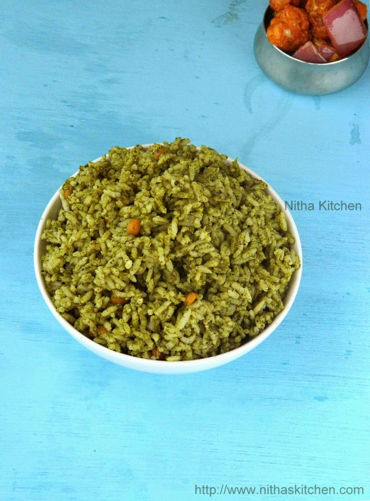 Spinach Rice0 L