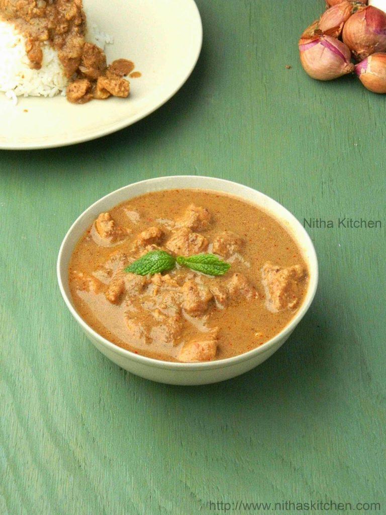 Thai Chicken Curry L