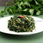 Manathakali Keerai Poriyal | Greens Stir Fry