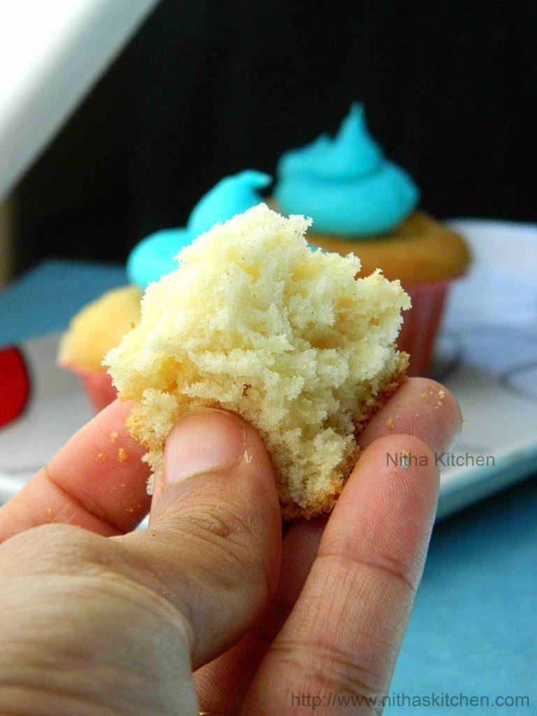 Vanilla Sponge Cupcakes1