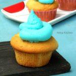 Eggless Vanilla Cupcakes   Party Cupcakes   Birthday Party Ideas
