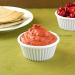 Cranberry Peanut Chutney Recipe | Healthy Chutney for Idli Dosa