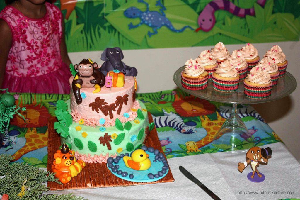 Jungle Birthday Cake Str Puree 1