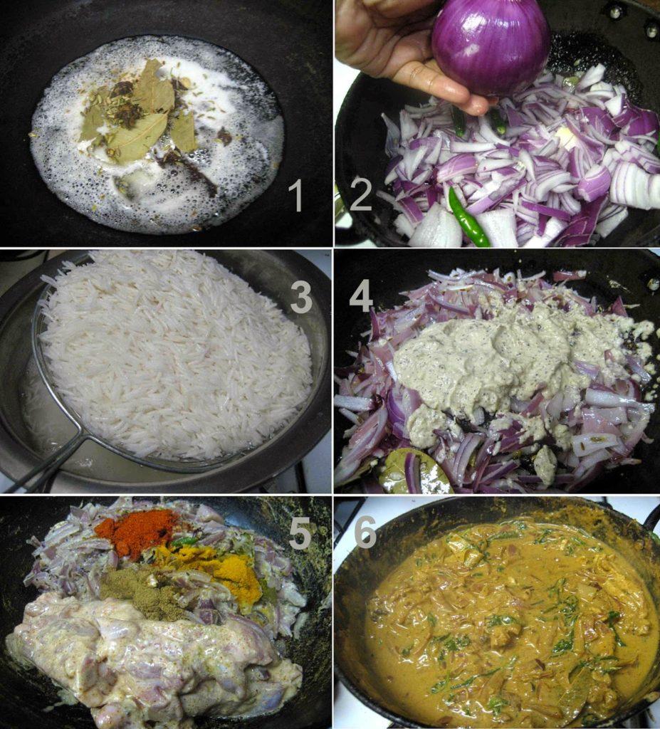 Oven Chicken Tikka Biryani.3 L