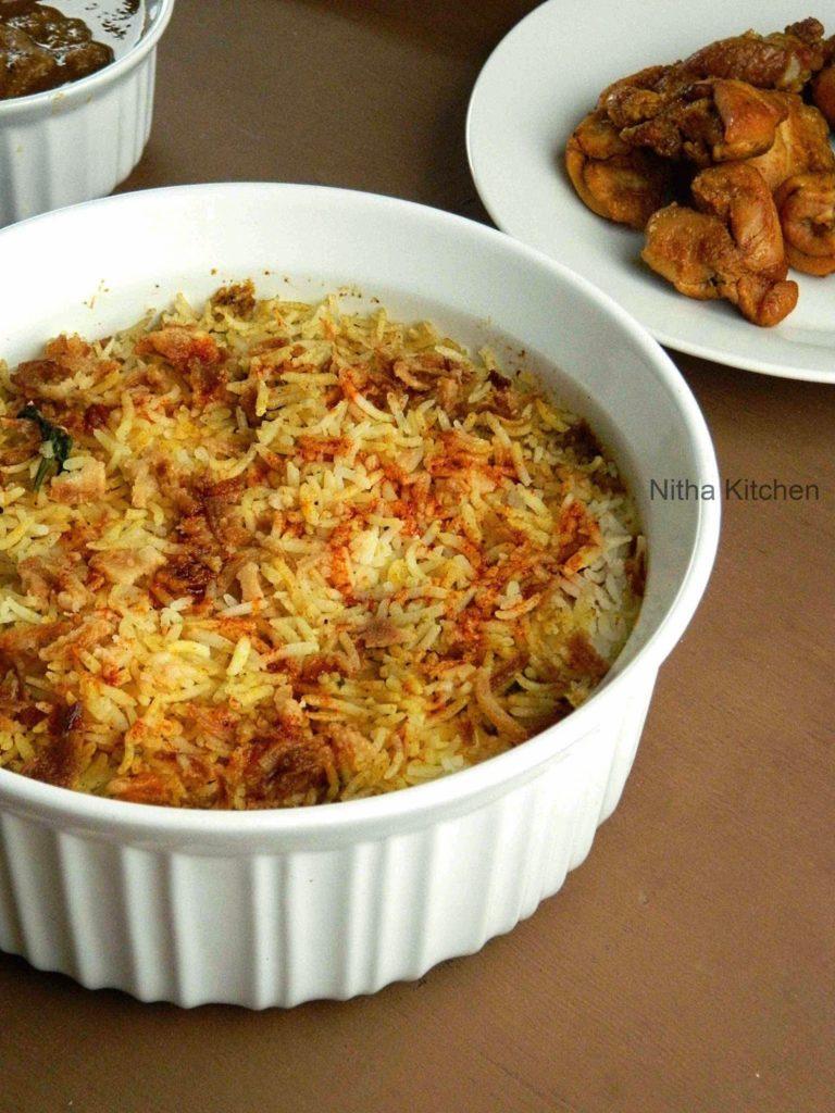 Oven Chicken Tikka Biryani1 L