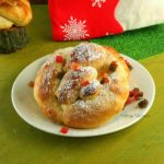 Eggless Neujahrs Pretzel | New Years Pretzel