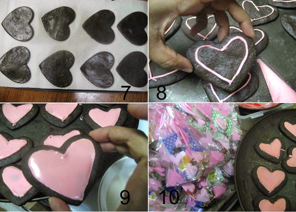 Heart Choc Cookies4 L