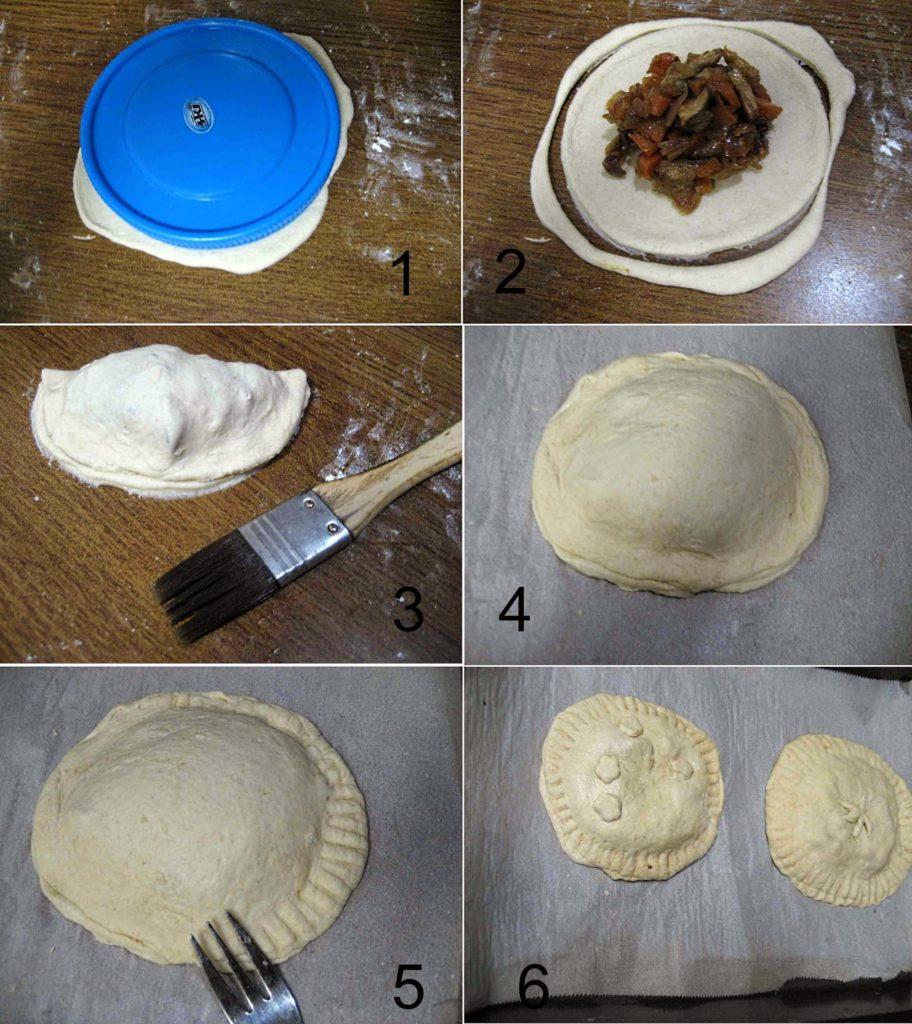 Mushroom Pie5 L