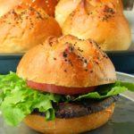 Kummelweck (Kimmelweck) Sandwich Rolls and Salt and Pepper Bread Sticks